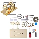 FenglinTech Stirling Engine Kit, DIY Assembly Stirling Engine Generator Model Toy