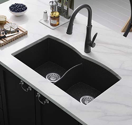 Lavello Black Kitchen Sink Subito 200U 31' - Double Kitchen...