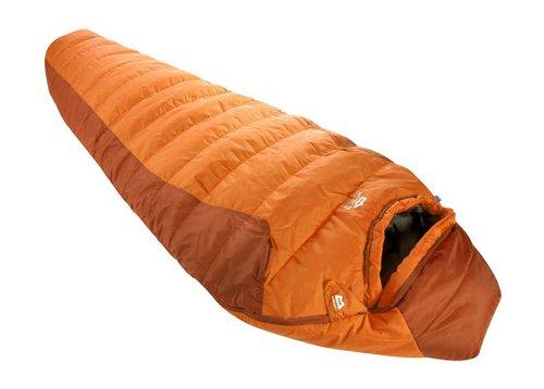 Mountain Equipment Schlafsack Starlight 1 Comfort Fit std, Russet orange, LZ, 5641-379-101 LZ
