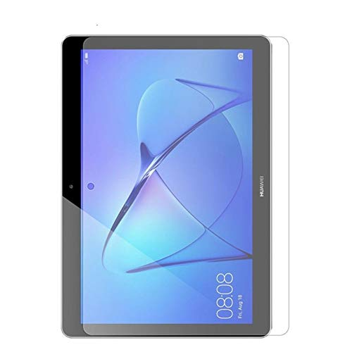 BHPP KPBHD Tempered Tablet Glass For Huawei Mediapad T3 7 8 9.6 MatePad T8 10.4 Screen Protector T5 M5 Lite 8.0 10.1 Inch Protect Glas Film (Color : For, Size : T3 7 wifi)
