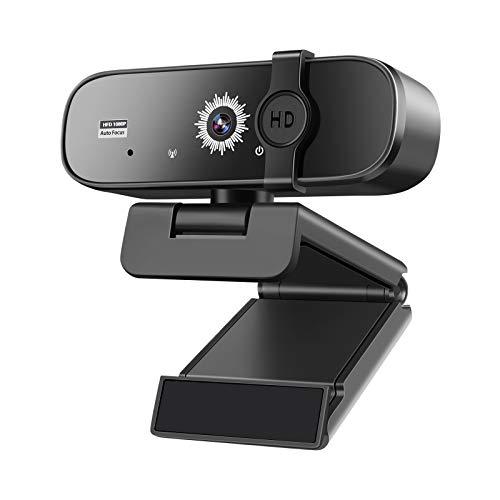 Webcam 1080P 60Fps Enfoque Automatico Marca ARVIEMI