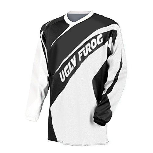 test Uglyfrog Herren Langarm Motocross Trikot, Motorrad, Cross, Freeride, MX, Enduro, Offroad… Deutschland