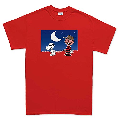 MensHalloweenKruegerT Shirt(Tee)RED M Red