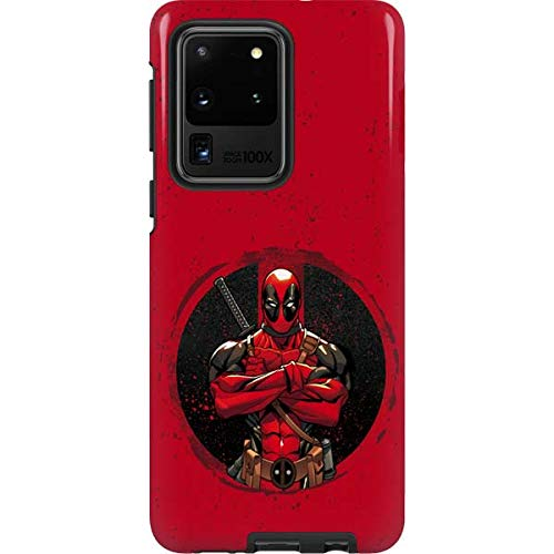 Skinit Pro Phone Case Compatible with Galaxy S20 Ultra 5G - Officially Licensed Marvel/Disney MERC with A Mouth Design