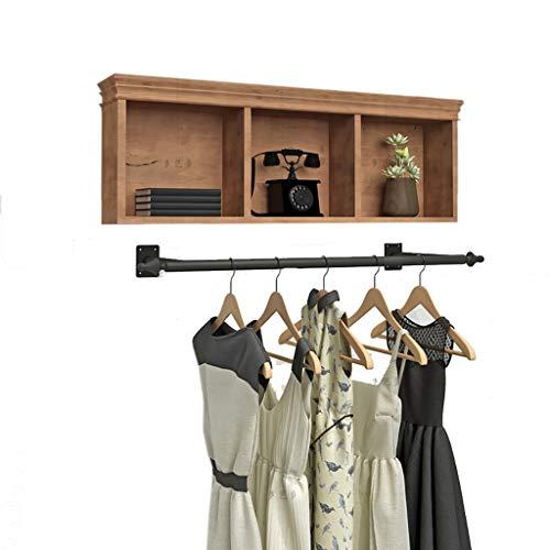 Coat Racks GBY kapstok wandbehangstandaard vintage oude muur hangende zijde houten frame van smeedijzer