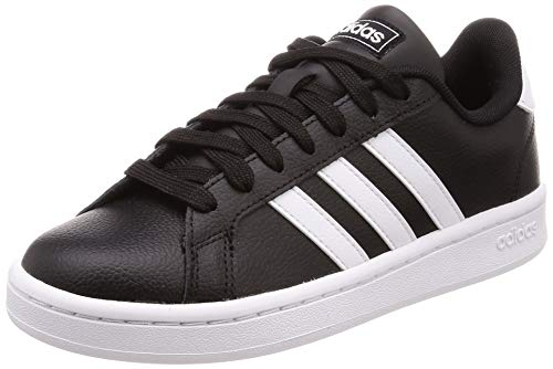adidas Grand Court, Scarpe da Tennis Uomo, Core Black/Ftwr White/Ftwr White, 44 EU