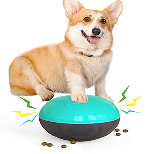 Sliding Gliding Squeaky Dog Toys Puppy Toy Dogs Supplies Food Dispenser Safe for Indoor Play Durable Bite-Resistant New Material
