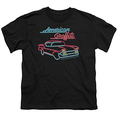 American Grafitti - - Neon jeunesse T-Shirt, X-Large, Black