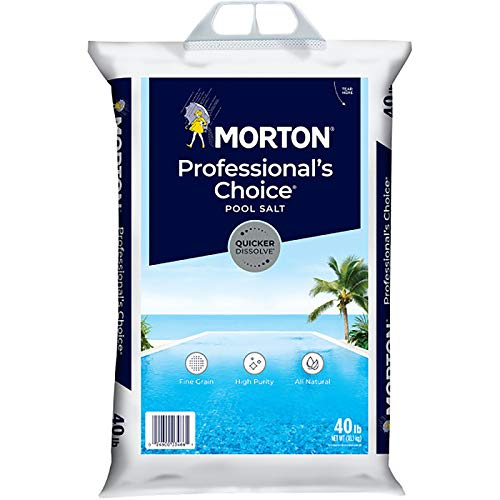 Morton Swimming Pool Salt - 40 lb Bag