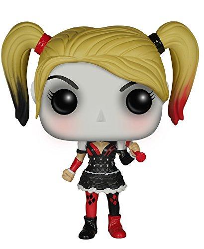 Funko Pop!- Arkham Knight: Harley Quinn DC Figurina de Vinilo, Multicolor, Talla única (6384)