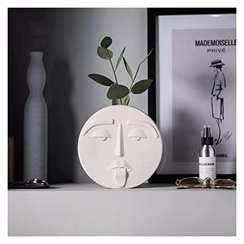Resumen Caraje Adnamento Escultura Ceramica Cocina Moderna Oficina De La Boda De La Comerimiento De La Espacial MUMUJIN (Size : 14.5X9X14.5CM)