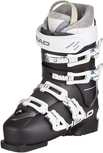 HEAD Damen FX GT W Skischuhe, schwarz/weiß, 24.0 | EU 39