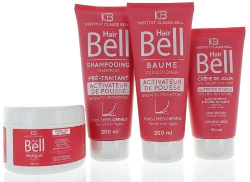 Veana HairBell Shampoo + conditioner + masker + HairCream intensieve roze edition, 4 stuks