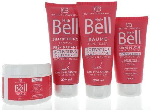 Veana HairBell Shampoo + conditioner + masker + HairCream intensieve roze edition, 4 stuks
