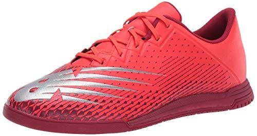 New Balance Furon Dispatch Indoor V6 Soccer Shoe, Neo Flame, 5.5 Wide US Unisex Big_Kid