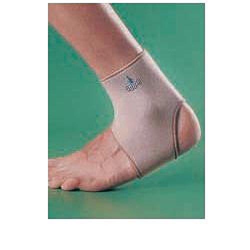 OPPO 1001 Enkelband Neopreen Brace Compressie Open hak Ondersteuning Sprain Pijn L Beige
