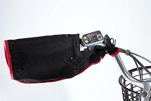 川住製作所ハンドルカバーオールシーズン電動アシスト車対応ブラックKW-784BK