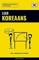 Leer Koreaans - Snel / Gemakkelijk / Efficiënt: 2000 Belangrijkste Woorden