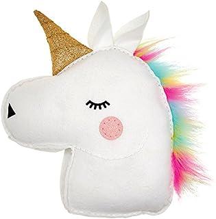 My Studio Girl Sew-Your-Own Glitterati Pillow -  Unicorn