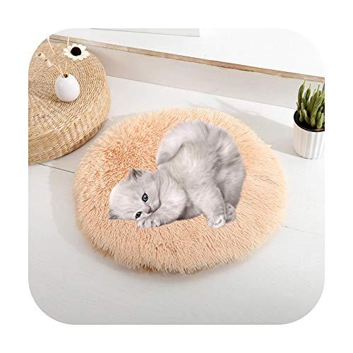 Petsupplies Winter Haustier Hundematte Rund Weich Flauschig Schlafen Katzen Bett...