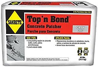 SAKRETE | Top 'N Bond Concrete Patcher | 40 lb