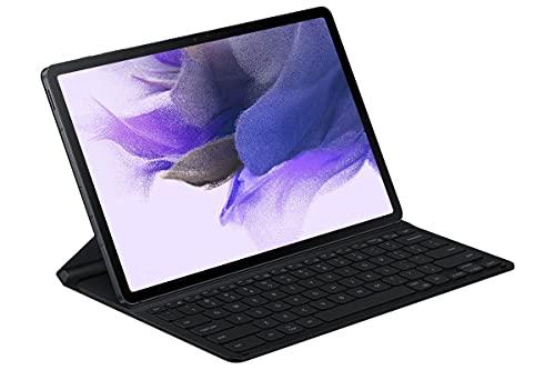 Samsung Book Cover Keyboard Slim EF-DT730 für das Galaxy Tab S7+ | Tab S7 FE, Black