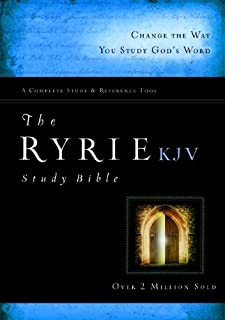 The Ryrie KJV Study Bible Hardcover Red Letter (Ryrie Study Bibles 2012)