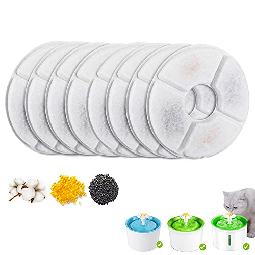 Cat Fountain Filter, Replacement Pet Water Fountain Filter, Pet Filters...