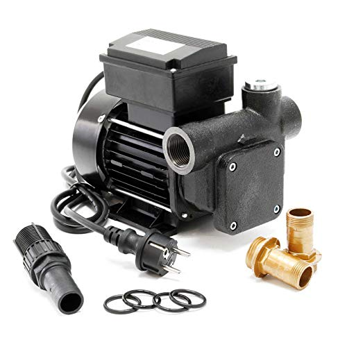 Selbstansaugende Dieselpumpe, 80 l/min 550W 230V, 3m Ansaughöhe, Heizölpumpe Ölpumpe