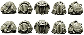 28mm Pleasure Legions: Space Knights Sonic/Steam Shoulder Pads by Spellcrow
