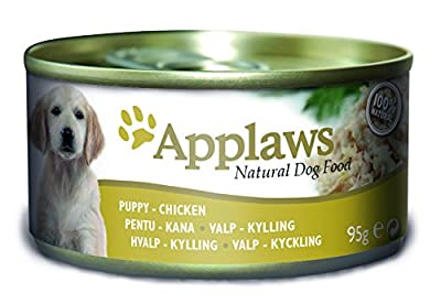 Applaws Dog Tin Puppy Chicken Breast Pack of 12 (12 x 95 g)
