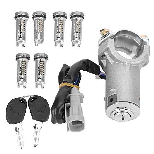 ROSEBEAR Interruptor de Encendido con Cerradura de Cilindro de Llave 2992551 2991727 Apto para Iveco Daily 2000-2006
