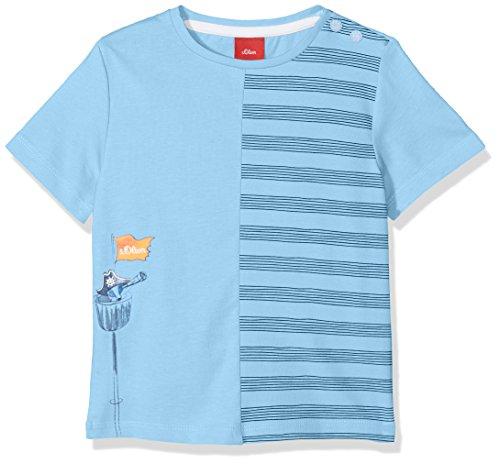 s.Oliver s.Oliver Baby-Jungen 65.804.32.5143 T-Shirt, Blau (Light Blue 5316), 68