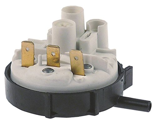 Jemi - Soporte para lavavajillas GS-19, GS-18, GS-6AF, GS-6, GS-7, GS-20 35/15 mbar, diámetro de 58 mm, diámetro de 6 mm