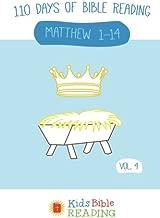 Kids Bible Reading Plan: Vol 4: Matthew 1-14