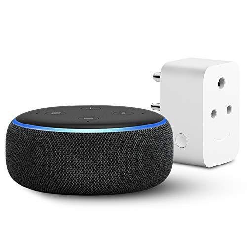 Echo Dot (3rd Gen) with Amazon Smart Plug