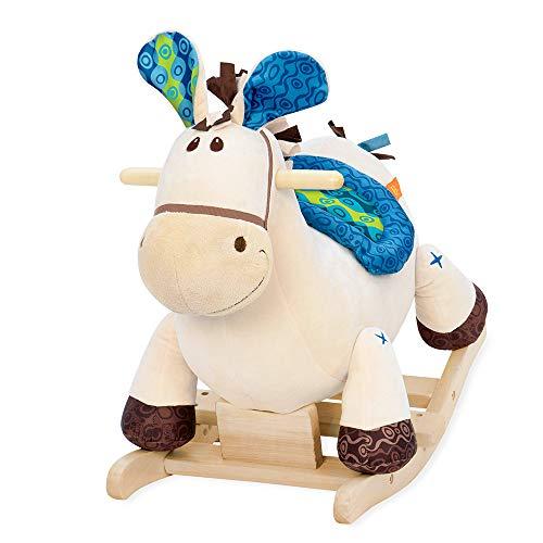 B. toys by Battat BX1512Z B. Rocking Horse w/Blue