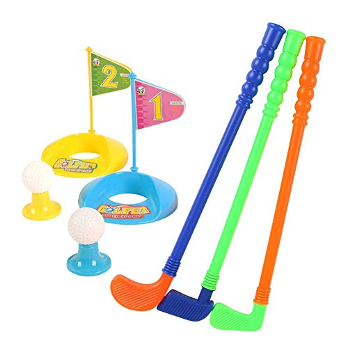 Class-Z Kinder Golfset, Golf Set für Kinder, Kids Golf, Golfgeschenke Golfartikel Golfzubehör Kinder Übungsgolf-Golfset, Minigolf Spielzeug Golfset Golfspiel Kinder