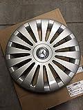 Mercedes Benz Original 4 Stück 17 Zoll Radkappen Silber/Blau W 639 Viano & Vito Baujahr 2003-04/2014