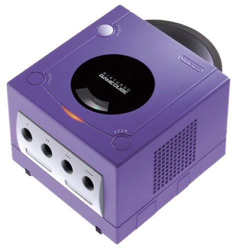 GameCube - Konsole Purple