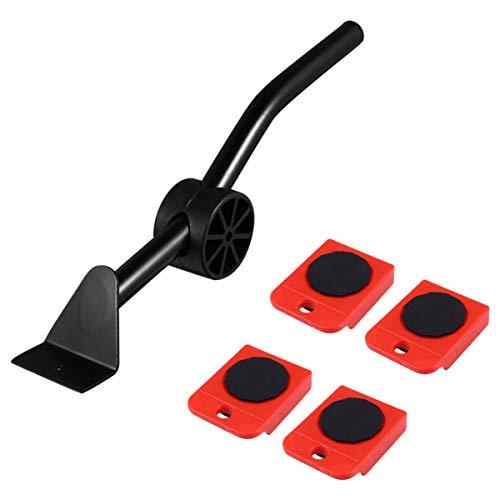 VILLCASE Werkzeugset für Möbelheber - Hochleistungs-Möbelheber mit 4 Schiebereglern für Einfaches Und Sicheres Bewegen um 360 Grad Drehbare Polster Geeignet für Sofas Und Kühlschränke