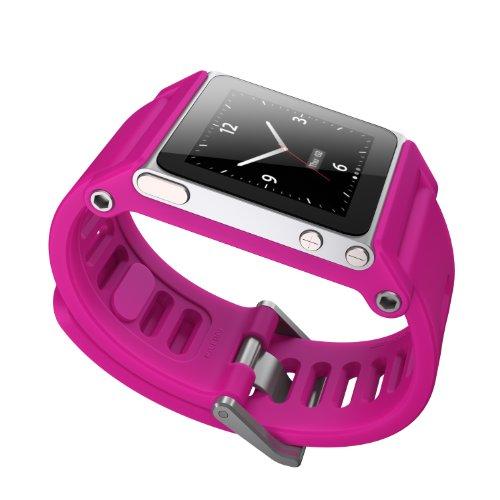 TikTok Minimal CMKY Correa de muñeca para iPod Nano 6G, Color Fucsia [Importado de Reino Unido]