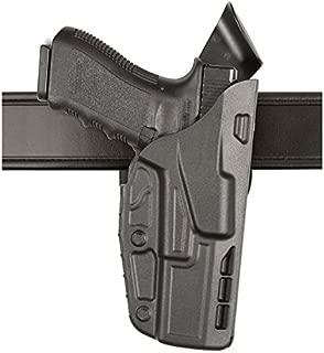 SAFARILAND (SAFARILAND) Model 7390 7TS ALS Mid Ride Duty Holster, Fits Glock 17/22, Right Hand, Plain Black Finish
