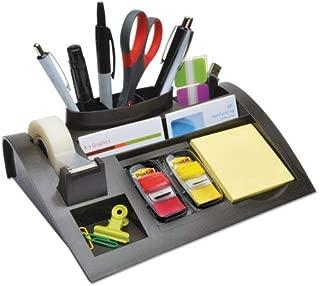 Post-it C71 Recycled Plastic Desk Drawer Organizer Tray, Plastic, Black