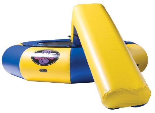 RAVE Small Aqua Slide(Blue & Yellow)