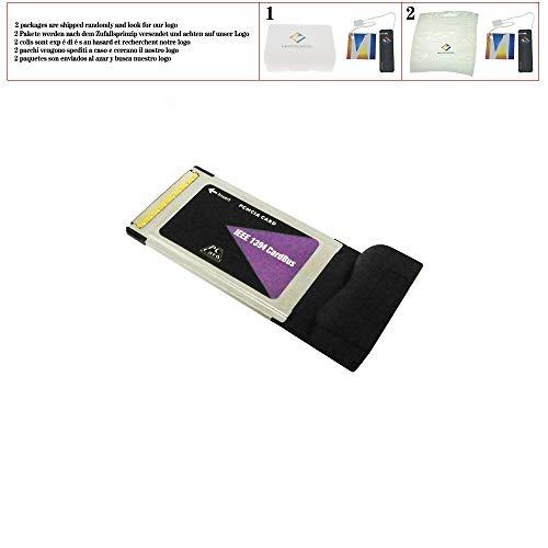 3 Port 6 Pin IEEE 1394 CardBus PCMCIA Karte für Digitalkamera DV Camcorder Festplatten Wechseldatenträger PC Desktop Laptop