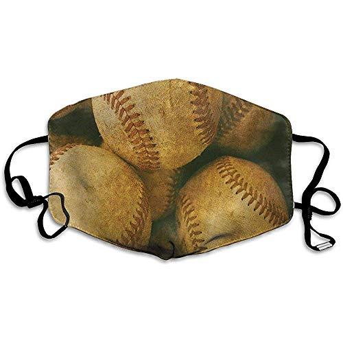 Instelbare mondmaskers voor stof-baseball-spelletjes, winddicht gezichtsmasker, speciale afdekfilter, allergenen.