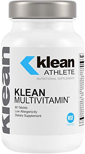 Klean Athlete - Klean Multivitamin - Essential Nutrients and Antioxidants for Optimal Health and Performance - NSF Certified for Sport - 60 Tablets