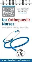 Garrett, B: Clinical Pocket Reference for Orthopaedic Nurses