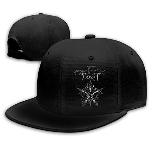 Teifion Harlen Celtic Frost Unisex Travel Sunscreen Caps Sun Hat Black